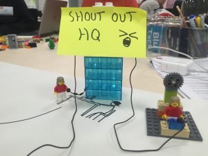 Shout Out Yeovil College Lego